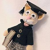 Куклы и игрушки handmade. Livemaster - original item Pundit Cat. Handmade.