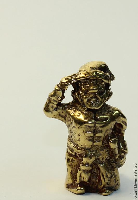 Миниатюрные модели ручной работы. Ярмарка Мастеров - ручная работа. Купить Воевода. Handmade. Золотой, военный, фигурка, фигурки животных