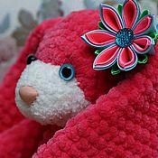 """Куклы и игрушки ручной работы. Ярмарка Мастеров - ручная работа Зайчик """"Малинка"""". Handmade."""
