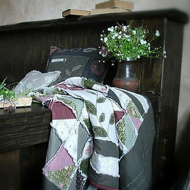 """Для дома и интерьера ручной работы. Ярмарка Мастеров - ручная работа """"Перед грозой"""" лоскутный комплект. Handmade."""