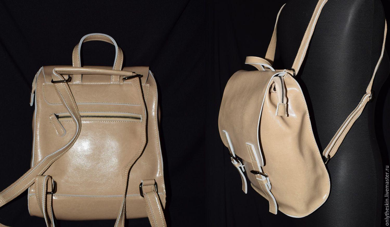 рюкзак трансформер натуральная кожа