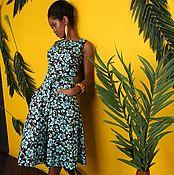 """Одежда ручной работы. Ярмарка Мастеров - ручная работа Комплект тройка в ретро стиле """"Майами"""". Handmade."""