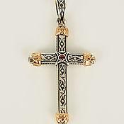 handmade. Livemaster - original item The cross of silver
