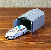Сувениры и подарки handmade. Livemaster - original item The layout of the garage. Handmade.
