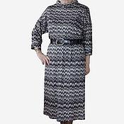Одежда ручной работы. Ярмарка Мастеров - ручная работа Платье из трикотажа Миссони. Handmade.