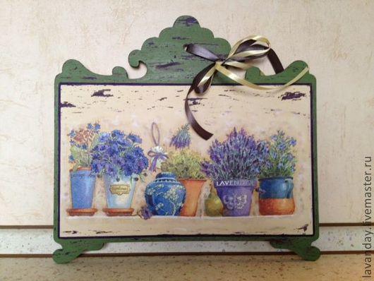 """Картины цветов ручной работы. Ярмарка Мастеров - ручная работа. Купить Панно """"Лаванда"""". Handmade. Панно на стену, цветы"""