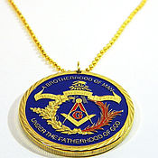 Украшения handmade. Livemaster - original item Pendant-medal of the informal