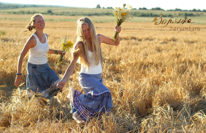 Юбка джинсовая Забава юбка длинная, Юбки, Орел,  Фото №1