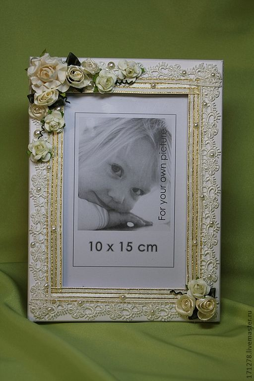 Свадебные фотоальбомы ручной работы. Ярмарка Мастеров - ручная работа. Купить Рамка для фото (арт. 0003). Handmade. Готовимся к свадьбе