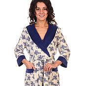 """Одежда ручной работы. Ярмарка Мастеров - ручная работа Халат """"Yasmina"""". Handmade."""