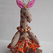 Куклы и игрушки ручной работы. Ярмарка Мастеров - ручная работа Игрушка Жирафа.. Handmade.