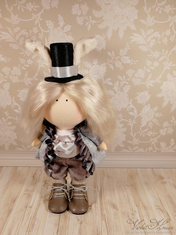 Кукла Белый кролик, Тыквоголовка, Санкт-Петербург,  Фото №1