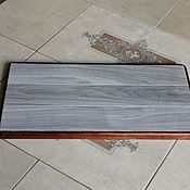 Для дома и интерьера handmade. Livemaster - original item Ceramic thermal stand on wooden platform PCT-M0000010. Handmade.