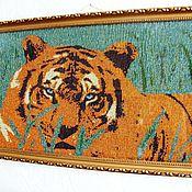Сувениры и подарки ручной работы. Ярмарка Мастеров - ручная работа гордый тигр. Handmade.