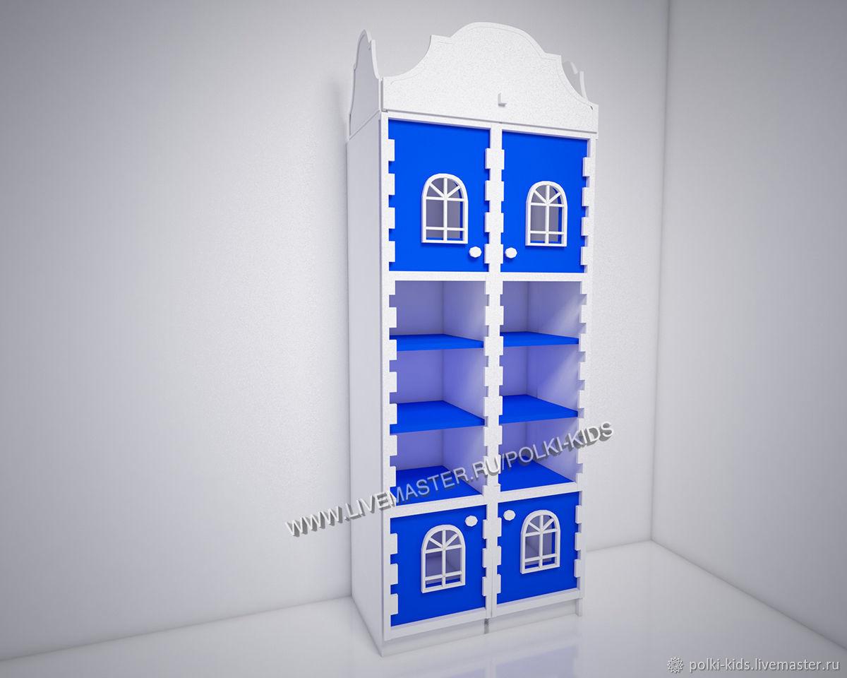Шкаф домик стеллаж Амстердам Бриджит-4, Мебель для детской, Санкт-Петербург,  Фото №1