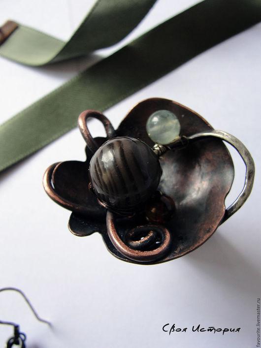 """Кольца ручной работы. Ярмарка Мастеров - ручная работа. Купить Кольцо из меди «Jardins de Versailles""""-Сады Версаля. Handmade."""