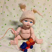 Куклы и игрушки ручной работы. Ярмарка Мастеров - ручная работа Пупсик фарфоровый шарнирный. Федя. Handmade.