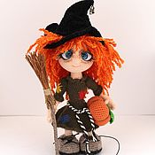 Stuffed Toys handmade. Livemaster - original item Little witch. Handmade.