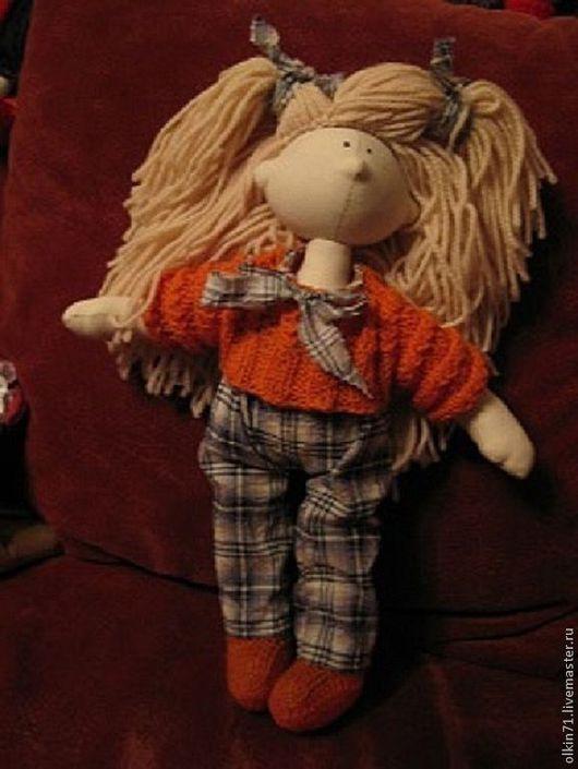 Куклы тыквоголовки ручной работы. Ярмарка Мастеров - ручная работа. Купить Кукла тыкооголовка.. Handmade. Кукла в подарок, натуральные материалы