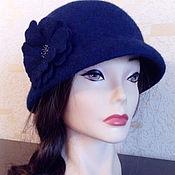 Аксессуары handmade. Livemaster - original item Hat-the Cloche felted