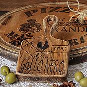 Посуда handmade. Livemaster - original item Cheese cutting Board from little elm