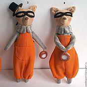 Куклы и игрушки ручной работы. Ярмарка Мастеров - ручная работа Воришки ватрушек. Handmade.