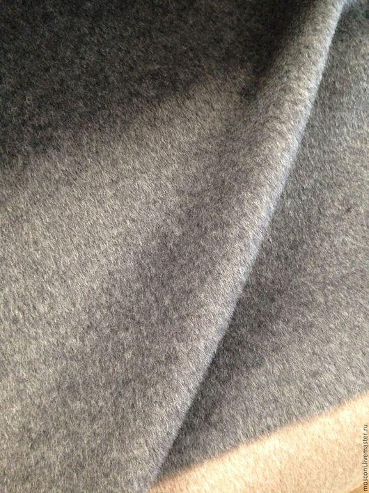 Шитье ручной работы. Ярмарка Мастеров - ручная работа. Купить Ткань Пальтовая . Италия. Handmade. Темно-серый, пальто демисезонное