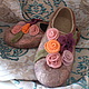 Gift on birthday. A gift to the girl.Gift to buy. Handmade shoes.