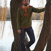 """Одежда ручной работы. Ярмарка Мастеров - ручная работа Рубаха """"Белобог"""". Handmade."""