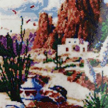 Материалы для творчества ручной работы. Ярмарка Мастеров - ручная работа Алмазная вышивка А2221. Handmade.