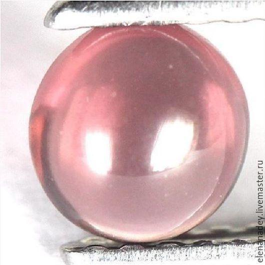 Для украшений ручной работы. Ярмарка Мастеров - ручная работа. Купить Турмалин розовый. Handmade. Розовый, турмалин розовый, кабошон