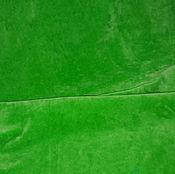 """Материалы для творчества ручной работы. Ярмарка Мастеров - ручная работа Велюр """"Зеленый"""". Handmade."""
