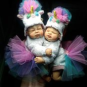 Куклы Reborn ручной работы. Ярмарка Мастеров - ручная работа Мини реборн единорожки. Handmade.