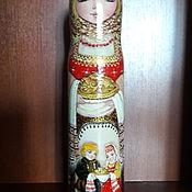 handmade. Livemaster - original item Matryoshka-Shtof