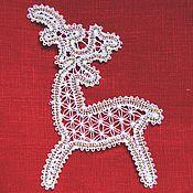 Сувениры и подарки handmade. Livemaster - original item Christmas deer.. Handmade.