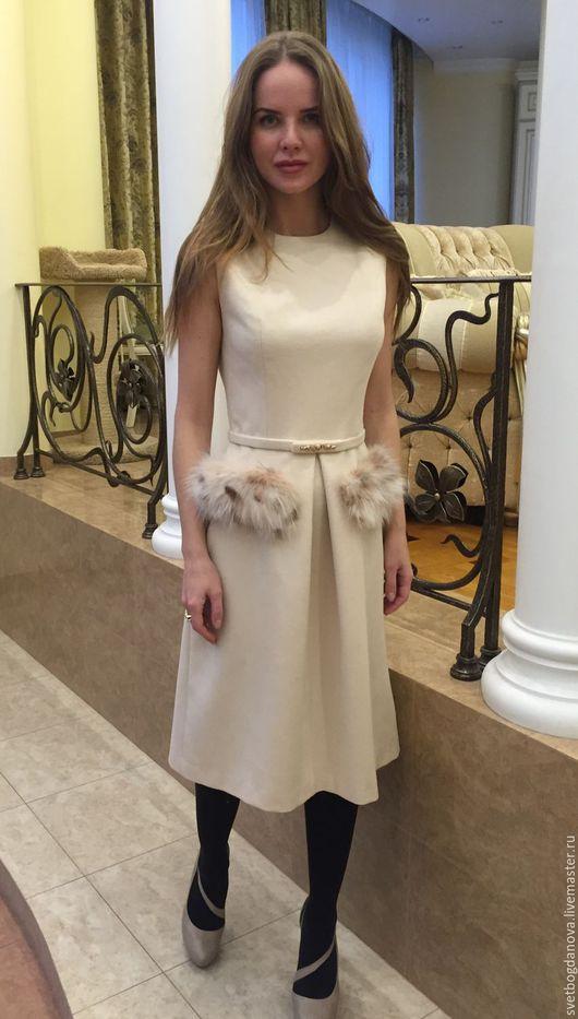 """Платья ручной работы. Ярмарка Мастеров - ручная работа. Купить Платье """" Ваниль"""". Handmade. Бежевый, Платье нарядное"""