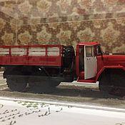 Куклы и игрушки ручной работы. Ярмарка Мастеров - ручная работа Модель пожарного автомобиля в масштабе 1:35. Handmade.