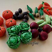 Куклы и игрушки ручной работы. Ярмарка Мастеров - ручная работа Овощи из полимерной глины. Handmade.