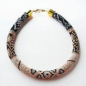 Украшения handmade. Livemaster - original item Harness beaded Oriental tale. Handmade.