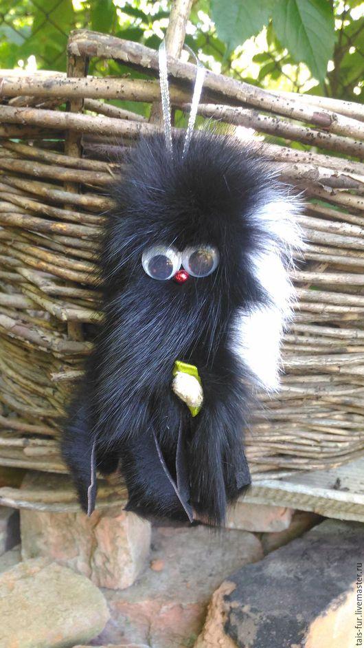 Игрушки животные, ручной работы. Ярмарка Мастеров - ручная работа. Купить Игрушка Осьминог, сувенир из меха, подвеска в авто, меховая игрушка.. Handmade.