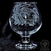 Посуда handmade. Livemaster - original item Duck. brandy glass.. Handmade.