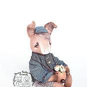 Куклы и игрушки ручной работы. Ярмарка Мастеров - ручная работа Сеня, ослик. Handmade.