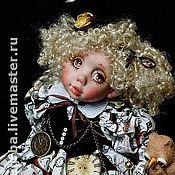 """Куклы и игрушки ручной работы. Ярмарка Мастеров - ручная работа Кукла """"Делу время"""". Handmade."""