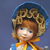 Куклы и игрушки handmade. Livemaster - original item BJD Doll Sunbonnet Sue. Handmade.