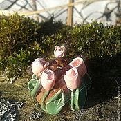 """Модели ручной работы. Ярмарка Мастеров - ручная работа Наперсток """"Тюльпаны"""". Handmade."""