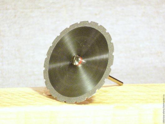 Другие виды рукоделия ручной работы. Ярмарка Мастеров - ручная работа. Купить Диски с алмазным краем 45 мм сплошной  с зубчатым краем. Handmade.