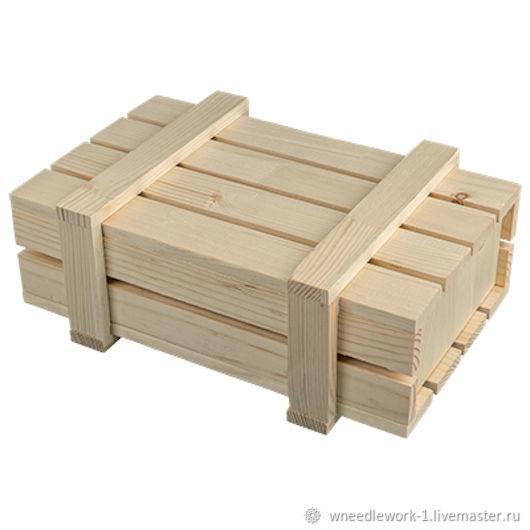 Деревянный ящик сосна 30 x 20 x 10 см, Коробки, Москва,  Фото №1