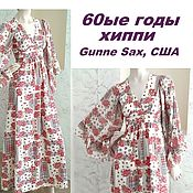Винтаж handmade. Livemaster - original item Dress, Gunne Sax, USA, ,60s, hippie, boho, small size. Handmade.