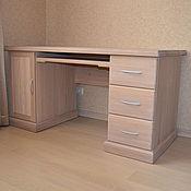 Для дома и интерьера ручной работы. Ярмарка Мастеров - ручная работа Стол дубовый. Handmade.