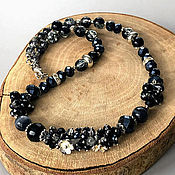 Украшения handmade. Livemaster - original item Decoration on the neck, simply elegant necklace, short necklaces. Handmade.